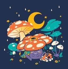 Goodnight Plume Canvas Print