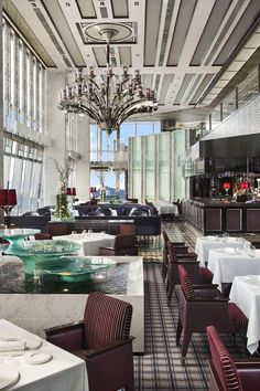 The World's Highest Hotel Restaurants - At these 11 restaurants, the views are just as jaw-dropping as the dishes.