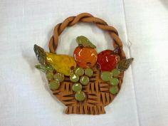 košík s ovocem Clay Creations, Pottery, Christmas Ornaments, Holiday Decor, Ceramica, Pottery Marks, Christmas Jewelry, Ceramic Pottery, Pots