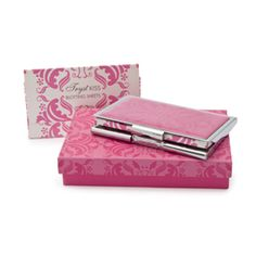 LADY PRIMROSE TRYST KISS BLOTTING PAPER In TRYST KISS COMPACT CASE  jazzylavender.com