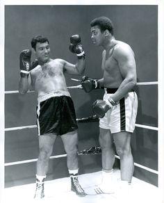Benvolio and Romeo- Rocky Marciano and Muhammad Ali