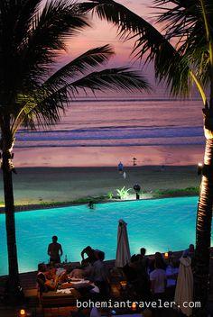 evening at Potato Head Beach club in Bali with the #travel2indonesia blogger crew. @Charlie Hartono Travel