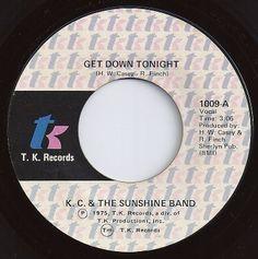 Get Down Tonight / KC & the Sunshine Band / #1 on Billboard 1975