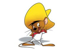 Speedy Gonzales (commonly shortened to just Speedy) is an animated caricature of a mouse in the Warner Brothers Looney Tunes and Merrie Melodies series of cartoons. Description from imgarcade.com. I searched for this on bing.com/images