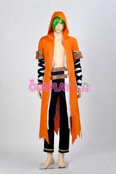 BlazBlue -- Yuuki Terumi Cosplay Costume Version 01
