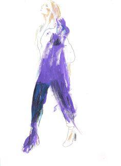 Tania Furnea fashion illustration