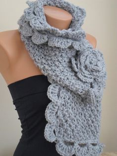 Knit Scarf Womens Accessories Winter Accessories by Scarf4you, $22.00