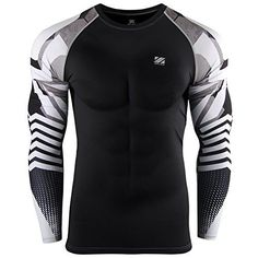 Zipravs Compression Tee Shirt Long Sleeve When you want to get the absolute best results from your workout how hard you train matters and when you want to go hard and make every second of your train...