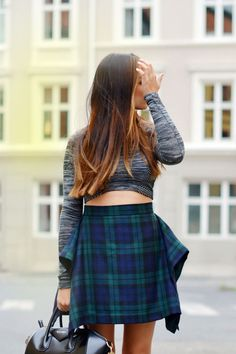 Ingrid Holm Givenchy Antigona Vivienne Westwood skirt NTICE crop top. More on my blog www.ingridholm.no