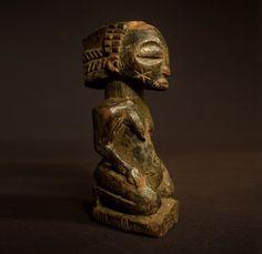 Rare Luba Kasongo Muyembe Figure - D.R Congo #LubaCarver