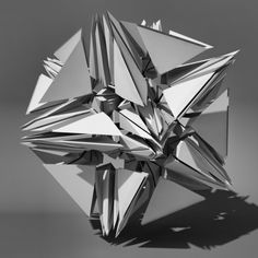 Voronoi Tesselation Abstract 3D Model - 3D Model