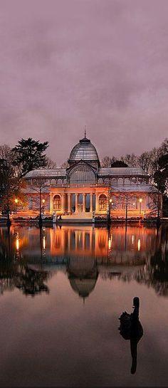 Crystal Palace, Retiro Park, Madrid, Spain