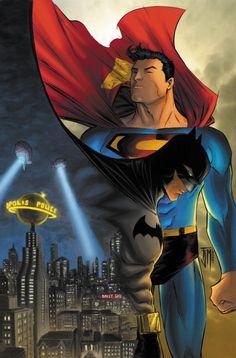 Superman Batman Cover Colors by ~manapul on deviantART