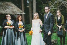 Seattle Wedding Photographer | Woodsy Wedding, Dragonfly Retreat Wedding