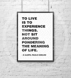 Items similar to O Aleph, Paulo Coelho on Etsy Aleph Paulo Coelho, Paolo Coelho Quotes, Meaning Of Life, Alchemist, Quotable Quotes, Beautiful Words, Inspire Me, Life Lessons