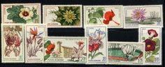 ROUMANIE ROMANA 1965, FLEURS JARDIN BOTANIQUE DE CLUJ, 10 valeurs, neufs / Mint. R336