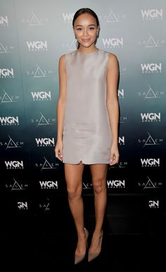 """Ashley Madekwe has the whole """"less is more"""" thing down"""
