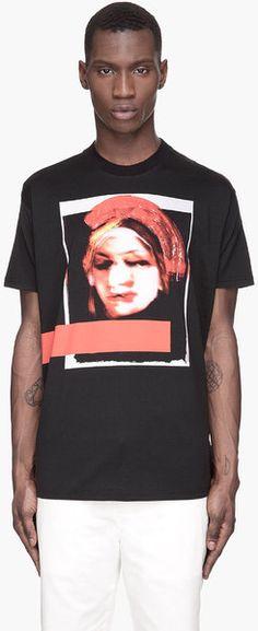 Bauhaus Madonna Print T-Shirt - Lyst