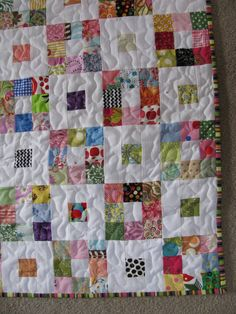 Lollyquiltz: Three Secrets to Making Free Quilts - Leaders and enders