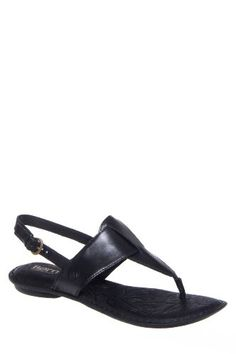 Born Womens Trini Black Sandal 6 M B -- For more information, visit image link.