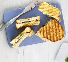 A toasted sandwich is a great way to use up cheeseboard leftovers and makes a delicious and thrifty lunch
