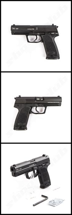 Heckler & Koch USP CO2 Pistole im Kaliber 4,5 mm BB mit Blow Back  www.shoot-club.de Speed up and simplify the pistol loading process  with the RAE Industries Magazine Loader. http://www.amazon.com/shops/raeind