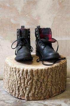 J Shoes Highgate Black Boots