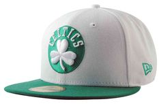 """Gorra NBA New Era """"Boston Celtics"""" Top 2 blanca 59FIFTY http://www.basketspirit.com/epages/268403.sf/es_ES/?ObjectID=4853198&ViewAction=FacetedSearchProducts&SearchString=new+era"""