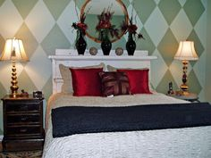 Creative, Upcycled Headboard Ideas   Bedroom Decorating Ideas for Master, Kids, Guest, Nursery   HGTV