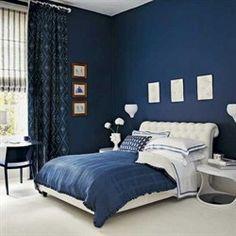 nachtblauwe slaapkamer - Google zoeken