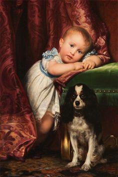 """""""Portrait d'Horace Delaroche,"""" 1838 -- by Paul Delaroche (French, 1797-1856)"""