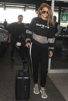 Gigi Hadid and Joe Jonas leave Milan after she rocked runway