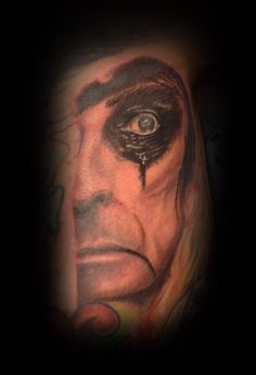 Alice Cooper Tattoo by Craig Harris, Frostbite Tattoo, NZ