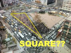Wait, These New York City Squares Aren't Actually Square... New Yorkers have a loose definition of what constitutes a 'square,' but here are some extreme examples of places named 'Square' where a different polygon would be more fitting.