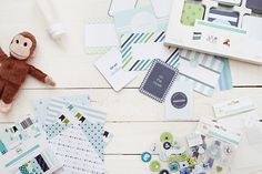 All new Baby Editions for Project Life designed by Emily Ley | BeckyHiggins.com