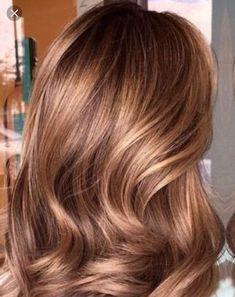 caramel hair Hair color ideas for brunettes carmel 49 ideas Golden Brown Hair Color, Brown Hair Shades, Gold Brown Hair, Brown Blonde, Brown Curls, Brown Brown, Medium Brown, Golden Bronde Hair, Light Brown Hair Colors