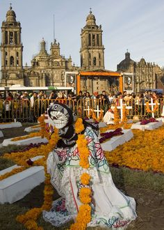 Dia de los Muertos in Mexico...