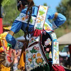 Ojibwa Beaded Bandolier Bags