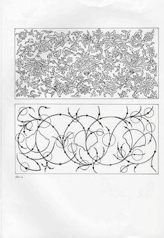 Pattern Drawing, Pattern Art, Turkish Pattern, Illumination Art, Islamic Art Pattern, Arabesque Pattern, Sketches Tutorial, Tangle Art, Iranian Art