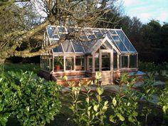 Custom made greenhouses contemporary greenhouses...love!!!