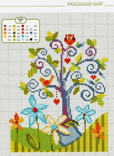 New Embroidery Cactus Free Pattern Cross Stitch Ideas Cross Stitch Owl, Cross Stitch House, Simple Cross Stitch, Cross Stitch Flowers, Cross Stitch Charts, Cross Stitch Designs, Cross Stitching, Cross Stitch Embroidery, Embroidery Patterns