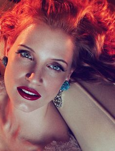 Actress Jessica Chastain is photographed by Michelangelo di Battista and styled by Alice Gentilucci for the April 2012 issue of Vogue Italia, with hair by Ward Stegerhoek and makeup by Francelle Daly. Jessica Chastain, Most Beautiful Women, Beautiful People, Dead Beautiful, Beautiful Celebrities, Gorgeous Hair, Beautiful Actresses, Absolutely Stunning, Beauty