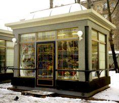 Tiny Little Houses, Food Kiosk, Industrial Architecture, Coffee Shop Design, Cafe Shop, Coffee Cafe, Shops, Pavilion, Backdrops