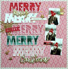 Merry merry Christmas - Scrapbook.com