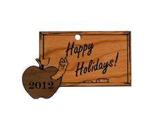 Redco Industries - Teacher's blackboard Wooden Christmas Ornament, $8.49 (http://www.redcoindustries.com/teachers-blackboard-wooden-christmas-ornament/)