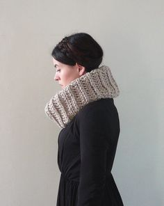 Infinity Cowl Cowl Scarf Cowl Neckwarmer  The Clam by MadebyChloee, £35.00