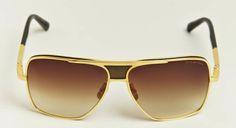 Dita Eyewear 18 Karat Gold Matador Sunglasses