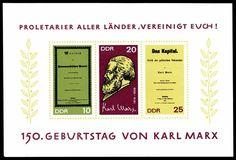 Karl Marx: http://d-b-z.de/web/2013/03/14/buergerlicher-revolutionaer-briefmarken-karl-marx/