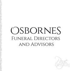 Logo rework for Osbornes Funeral Directors and Advisors, NZ Funeral Directors, Page Design, Graphic Design, Logos, Undertaker, Logo, Visual Communication