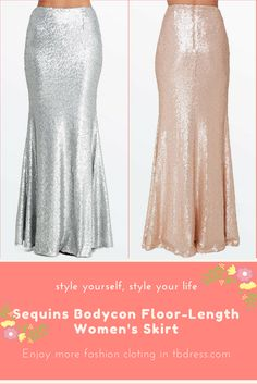 Material:Polyester; Silhouette:Bodycon; Skirt Length:Floor-Length || Maxi Skirts